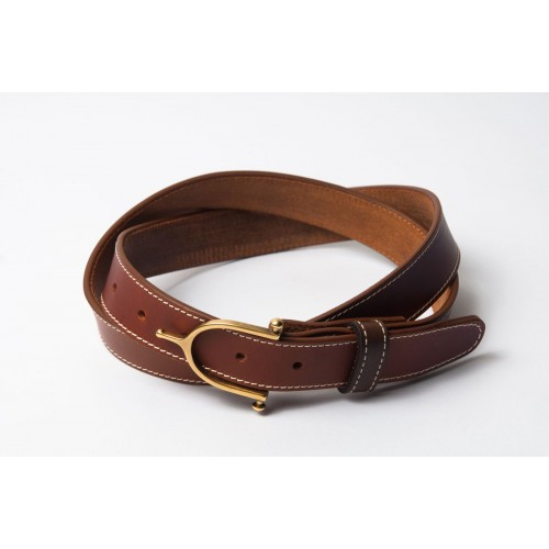CEINTURE SURPIQUÉE – Light Brown